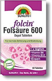 Folcin 600 Depot tablets